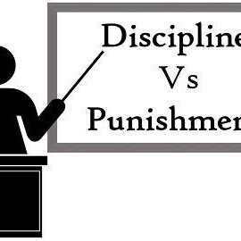 Difference between Discipline and punishment